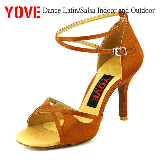 YOVE Style w124-8 Dance shoes Latin/Salsa Indoor and Outdoor Women's Dance Shoes