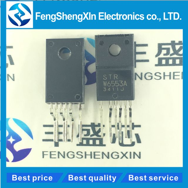 10pcs/lot    New   STR W6553A  STR-W6553A  STRW6553A    Power management chip  TO220-6