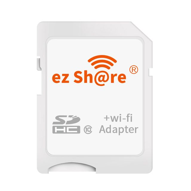 ez share WiFi SD Card Wireless Micro SD Adapter 8GB 16GB 32GB Camera Memory Card Support 8GB 16GB 32GB TF Microsd Card Reader