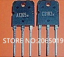 5PAIR/10PCS      2SA1265N    2SC3182N    A1265N    C3182N    TO-3P
