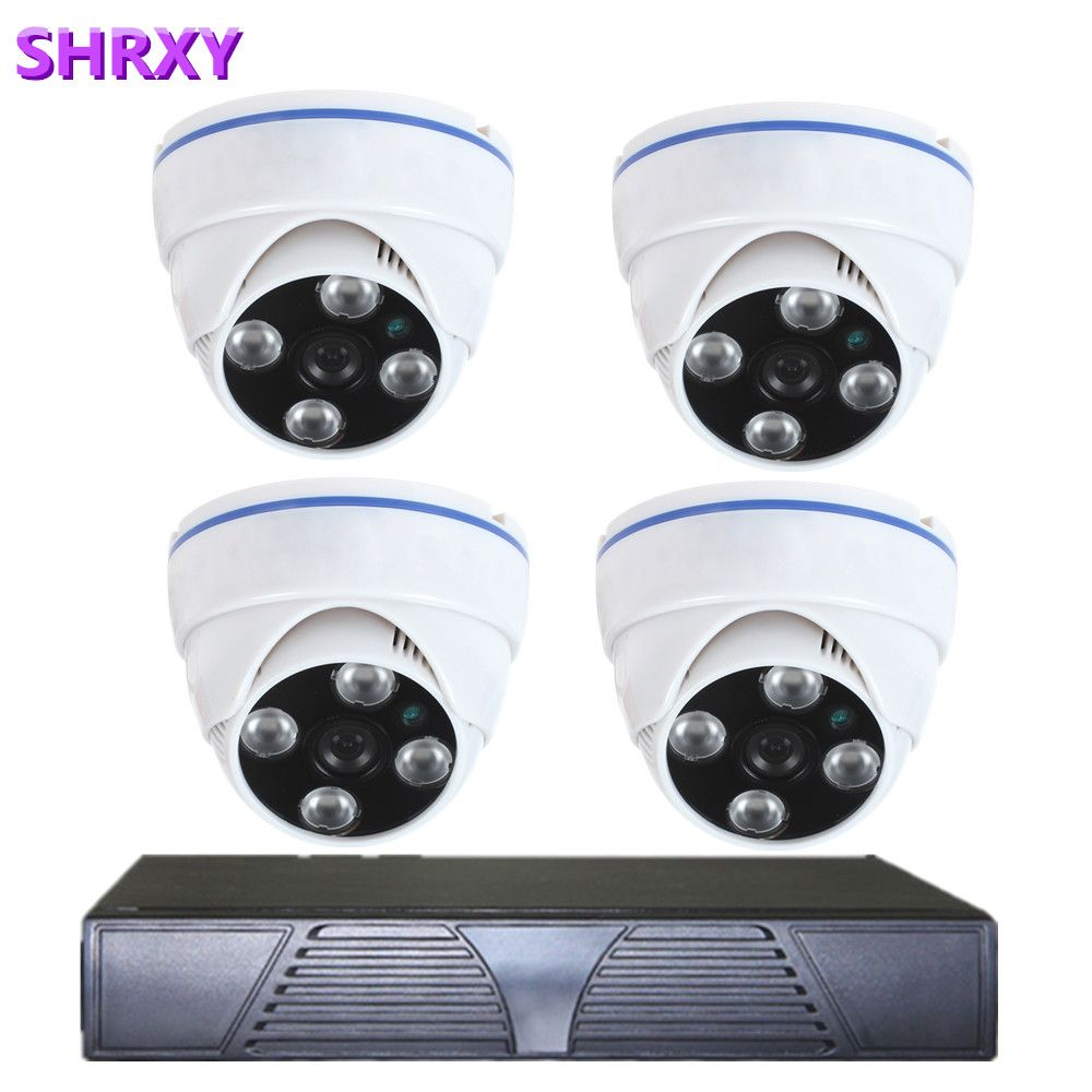 Home Security 4CH 960H HDMI DVR 4PCS 800TVL Outdoor CCTV Camera System 8 Channel Video Surveillance Kit