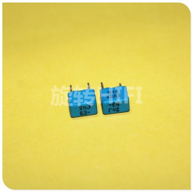 2018 hot sale 20pcs RIFA PFR5 2000pf 2nf 202/63v new fever audio coupling capacitor P5 short free shipping
