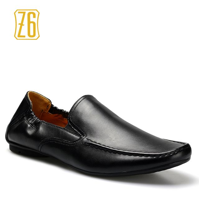 Z6 Brand men flats 39-44 soft handmade driving comfortable men loafers #W3167-1