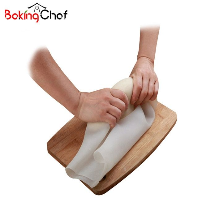 Silicone Pizza Dough Maker Roller Bag Mixer Cookie Dough Homemade Baking Pastry Tool Kitchen Dining bar Bakeware Accessories