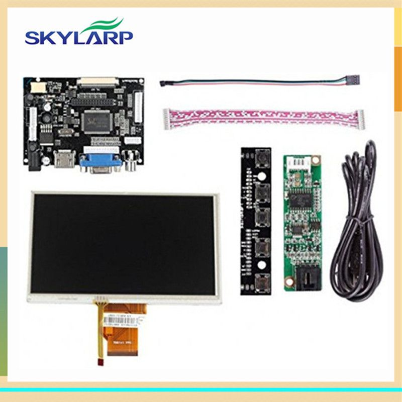Skylarpu 7''inch LCD Display Touch Screen TFT Monitor For AT070TN90 with HDMI VGA Input Driver Board Controller for Raspberry Pi