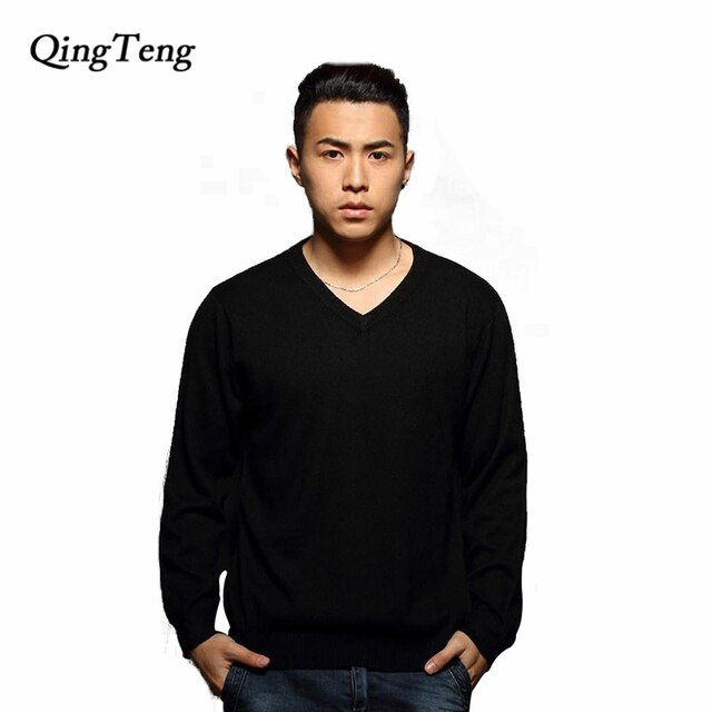 Cashmere Men  Brand Sweater Men pullover O Neck Wool Male jumper V Neck men sueter military sweater erkek kazaklar