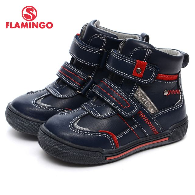 FLAMINGO 2016 new collection autumn/winter fashion kids boots high quality anti-slip kids shoes for boys W6XY152