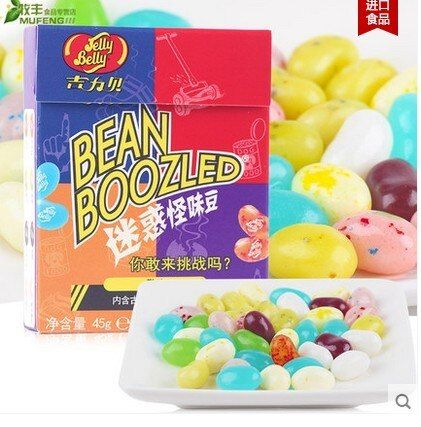 2pieces/set Strange Taste Bean Harry Potter Jelly&Belly Belli Beans Candy harry-potter-candy bean boozled challenge bin boozled