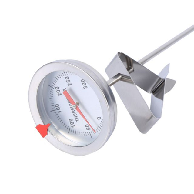 "W 12"" Stainless steel Food Probe Thermometer Silver Thermometer BBQ Food Cooking Baking or Frying A"