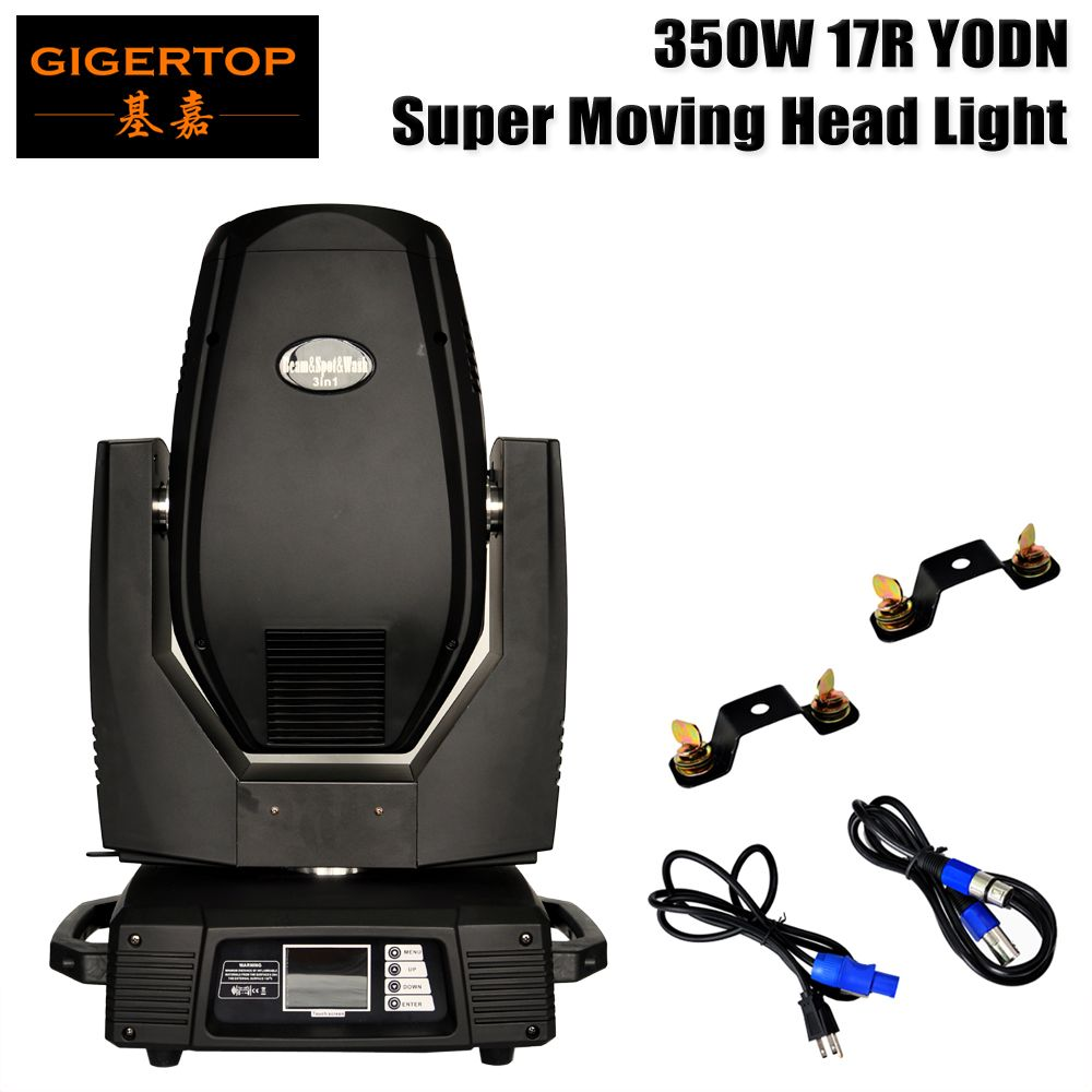 New Stage Light Spot&Beam&Wash 3IN1 17R Led Moving Head Light 16/24 DMX Fixed/Rotate Gobo Plate Led Moving Head Beam Light