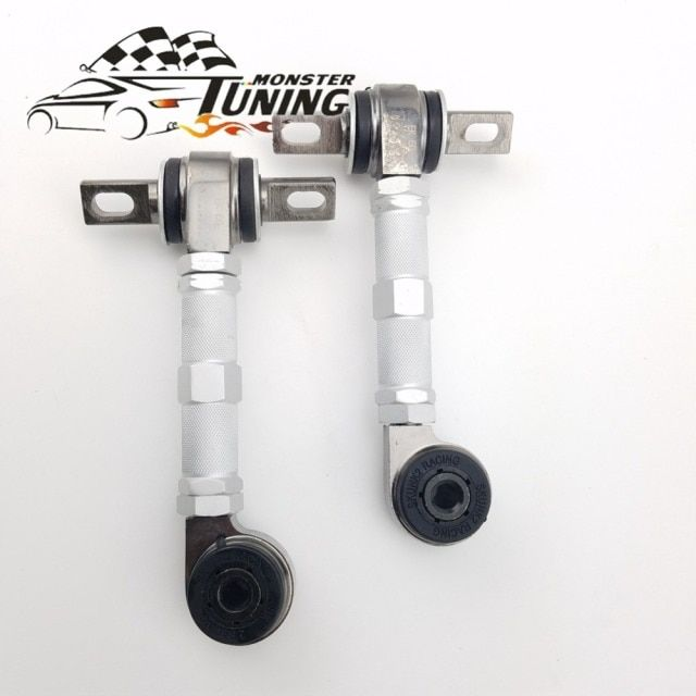 Tuning Monster High Quality Rear Adjustable Camber Arm Kit For Honda Civic EG EK 88-01 With Logo