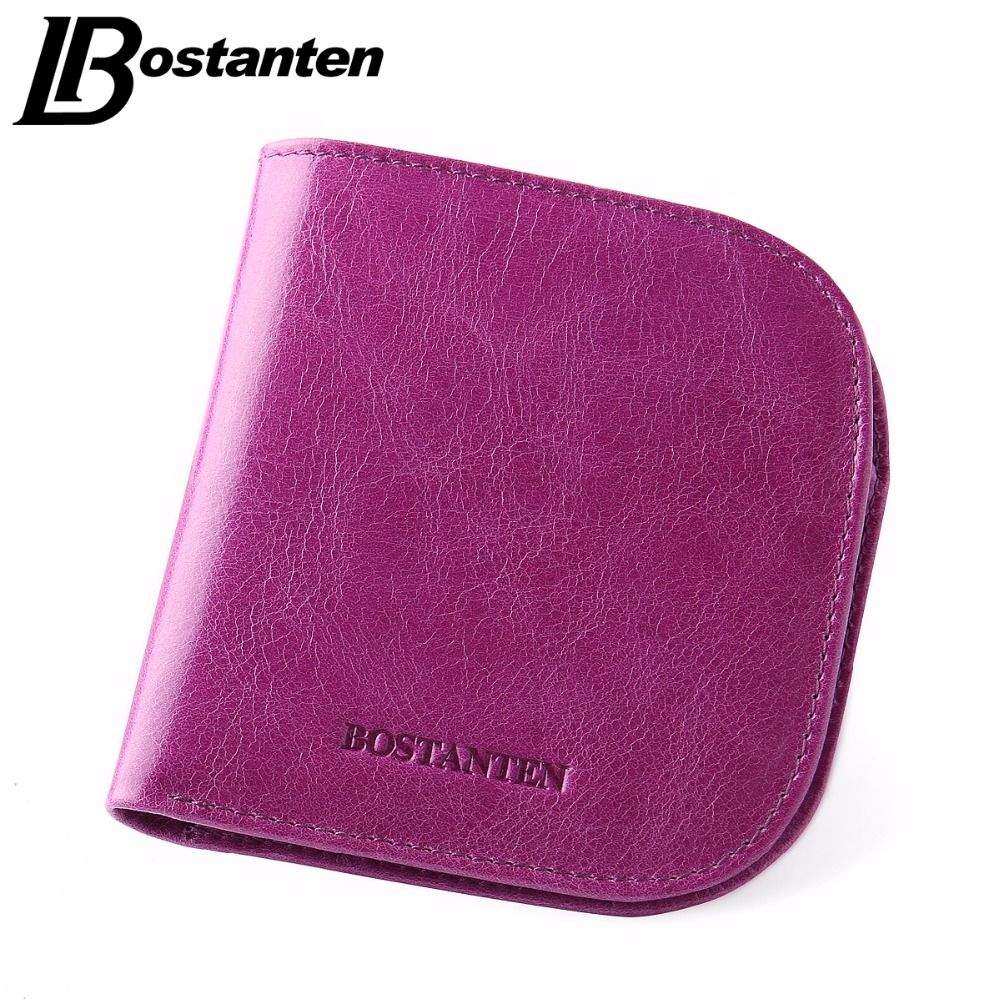 BOSTANTEN New Designer Women Wallets Fashion Girls Purse Short Credit Card Holder Candy Color Small Female Wallets Luxury Brand