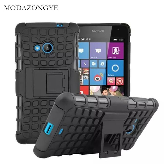 sFor Microsoft Lumia 535 Case Microsoft Lumia 535 Case Cover Armor Silicone Case For Microsoft Nokia Lumia 535 TPU+PC Back Cover