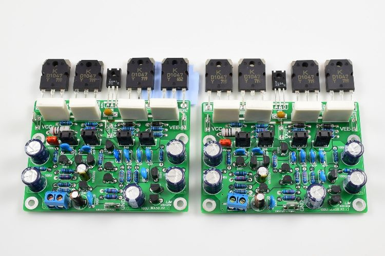 Assembled Stero MX50X2 Class AB Power Amplifier Boards