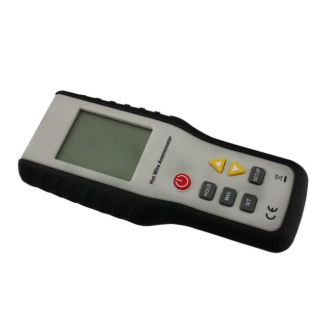 HT-9829 High Sensitivity Heat-Sensitive Thermal Anemometer Anemometro Measuring Wind Speed With Digital LCD Display