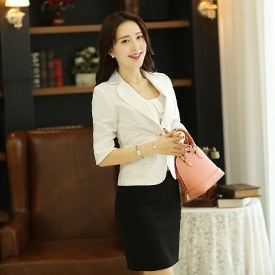 Plus Size Xxxxl 5xl 6xl Spring Autumn Feminine Blazer Small Suit Female Korean Costume Slim A Buckle Sleeve Suit Jacket Women