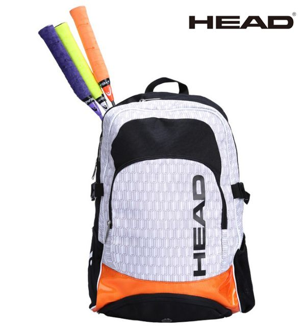 2017 Head Tennis Backpack Bag Racket Sports Bag Large Capacity 2 Tennis Racquets Bag With Separate Shoes Bag Tennis Backpack
