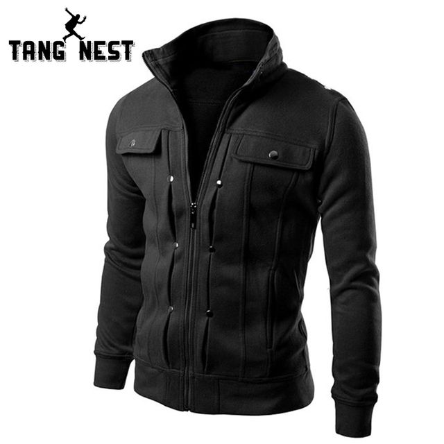 TANGNEST Handsome 2018 Top Slim Men's Sweatshirt Casual Men Tracksuits Comfortable Popular For Male Hoodie Asian Size MWW598