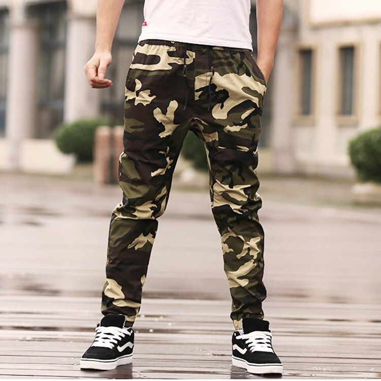 Plus Size Army Cargo Pants Men Camouflage Sweatpants hip hop Trousers Big Size XXL 3XL 4XL 5XL 6XL 7XL 8XL