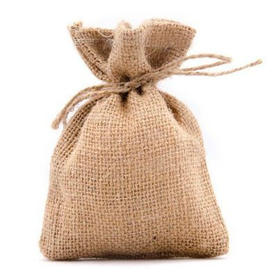 "Hessian Gift packaging Pouch 7x9cm (2.75""x3.5"") 9x12cm 10x15cm pack of 50 Party Candy Favor Sack Burlap Drawstring Bag"