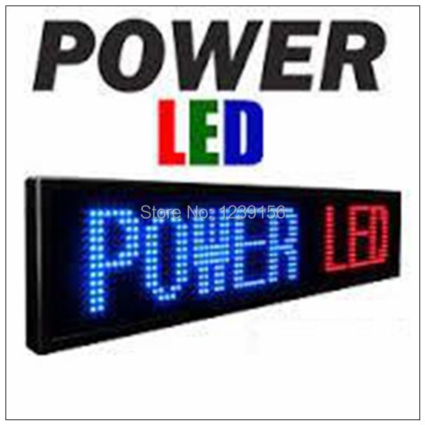 Leeman programmable led moving message sign board/12v led car message moving scrolling sign display