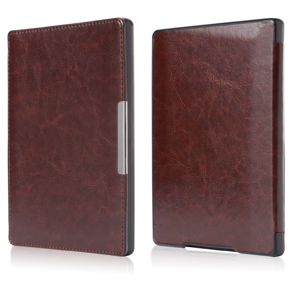 "Flip Magnetic Auto Sleep Leather Cover Case for Kobo aura h2o 6.8"" eReader PC620-SZ"
