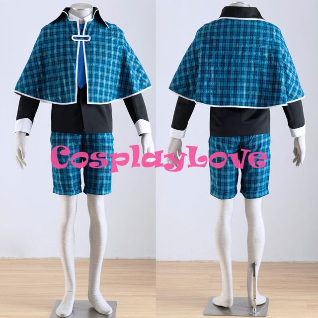 High Quality Stock Japanese Anime Shugo Chara! Tadase Hotori Cosplay Costume CosplayLove Christmas Halloween
