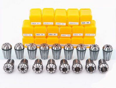 Free Shipping 6PCS for Choose ER ER32 Collet Chuck for Spindle Motor Engraving/Grinding/Milling/Boring/Drilling/Tapping