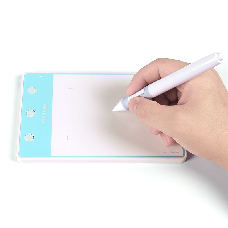HUION H420 4 x 2 Inches Professional Digital Tablet Pen Pad Signature Graphic Drawing Tablet (Perfect for osu)