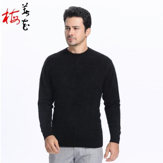 mink cashmere sweater knitted men brand clothing pulover knitwear men wool sweater ropa de hombre moda 2015 maglioni uomo