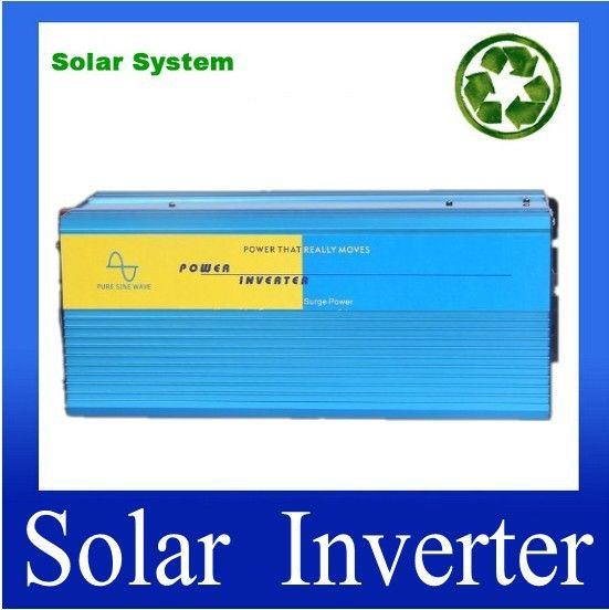 inversor 12v onda senoidal pura 4000 watt Pure sine wave inverter, Pure sine wave dc to ac Pure inverter 4000W Peak 8000W