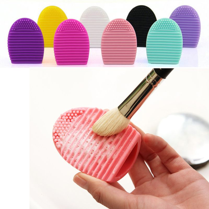 Clean Brush egg Brushes Makeup Wash Egg Brush Cosmetic Cleaner Cleaning Tools For Makeup Brushes Beauty Tool 2HH10