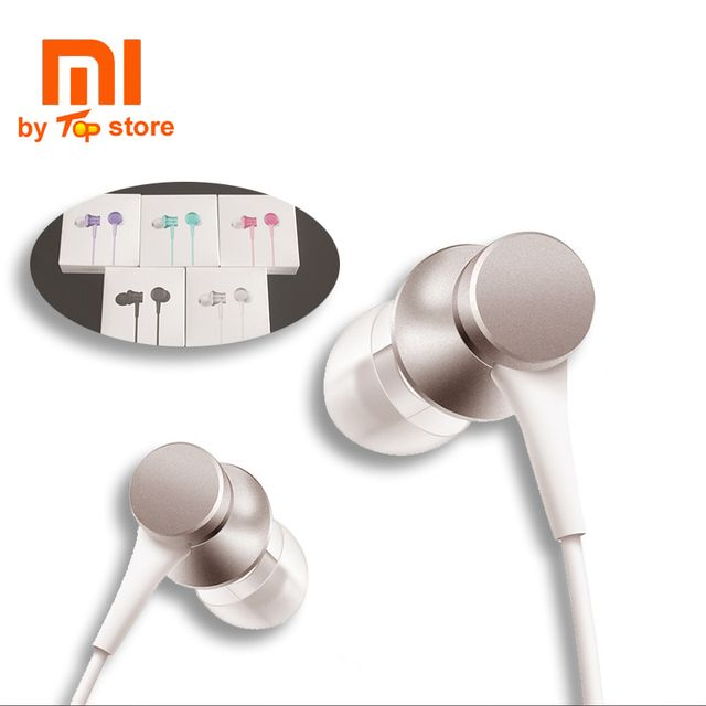 Xiaomi Xiomi In-ear piston 3 Earphone Youth Version with Mic Wire Control MI headset for mobile phone fone de ouvido