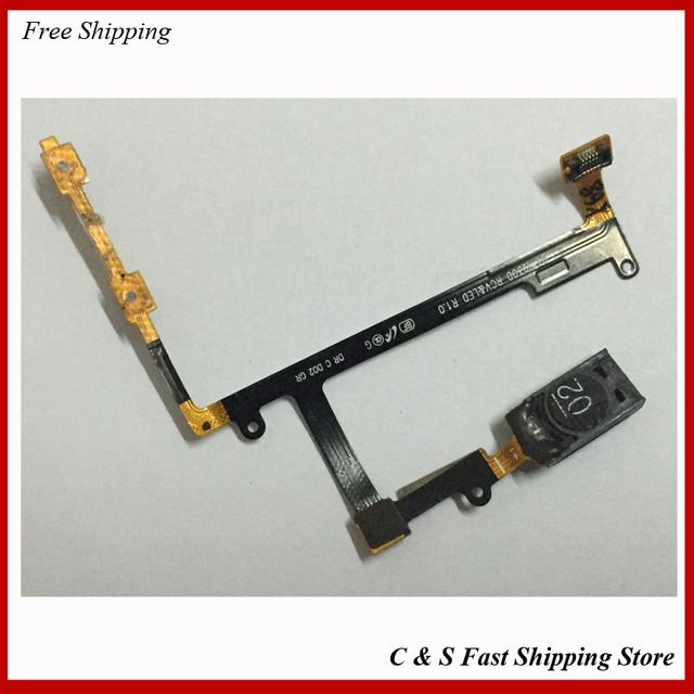 Original Ear Earpiece Speaker Earpiece Audio Volume Button Flex Cable For Samsung Galaxy S3 i9300 Replacement Repair Parts