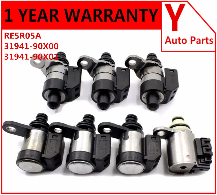 Original transmission solenoid RE5R05A A5SR1/2 Solenoids Kit 31941-90X00 For 02-ON  G37 Armada Titan Frontier Navara NV used