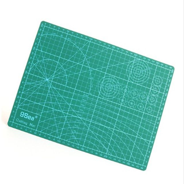 Good quality A3 Cutting Mat 45*30cm Manual DIY Tool Cutting Board Double-sided Available Self-healing Cutting Pad