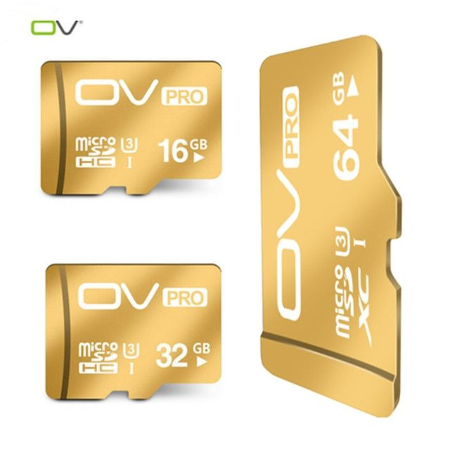 100% original genuine OV PRO Extreme U3 new version 90MB/s micro sd 16GB/32GB/64GB TF best choice for 4K video for go pro