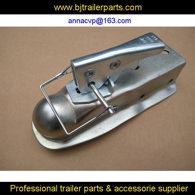 "CVP Trailer coupling 1-7/8"" x 2'' Ball Hitch Back Trailer Coupler straight Tongue 2"" 2,000 Ibs,trailer parts"