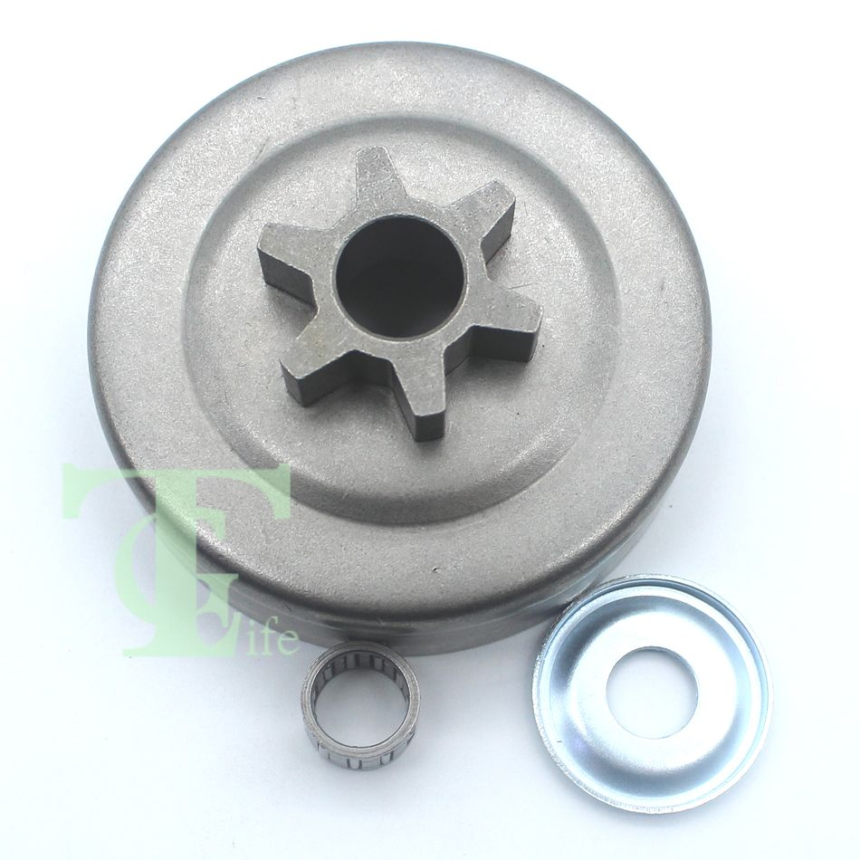 3/8 6T Clutch Drum Sprocket Washer Bearing For STIHL MS170 MS180 MS210 MS230 MS250 017 018 021 023 025 Chainsaw Parts