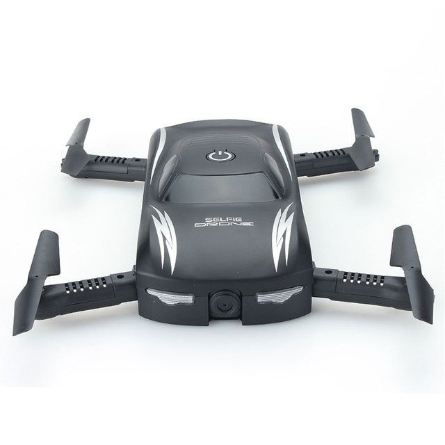 New Listing X185 Car styling Mini Folding Quadcopter 2.4G 4CH With FPV WiFi Camera RC Helicopter One Key Return Drone