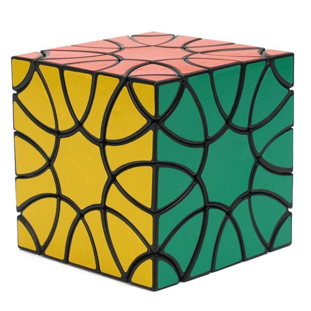 YKLWorld Newest Fun Profiled Clover Magic Cube High Quality Cubo Magico Professional Puzzle Cube Educational Toy Gift (S8