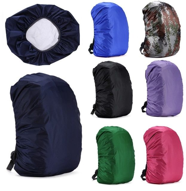 Backpack Raincoat Suit for 30L-55L Waterproof Fabrics Rain Covers Travel Camping Hiking Outdoor Luggage Bag Raincoats