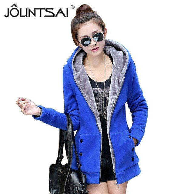 2016 New Fashion winter women jackets coat High Quality Casual Thicken Warm Hooded Jacket Mid-length Coat AE-LN-562