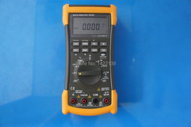 YH511 Portable Megohmmeter Digital Insulation Resistance Meter Tester