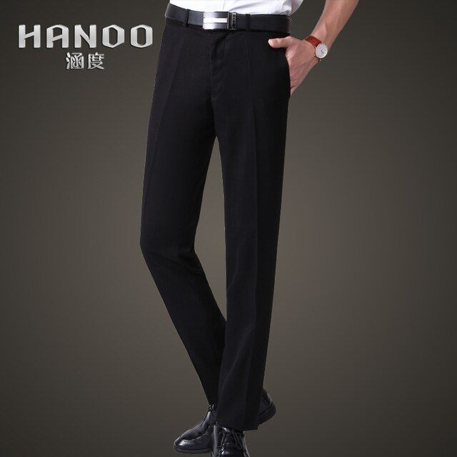 Men business suit pants wedding suit pants formal pants slim fit trousers