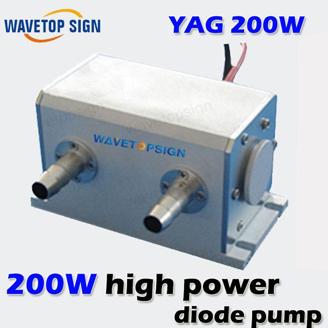 1064nm 200W High Power Diode Pumped Nd: YAG Laser Cavity  size 130*64*72MM