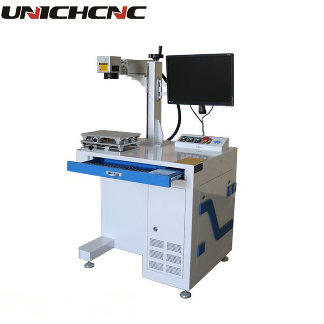 High configuration desktop raycus fiber laser 20w