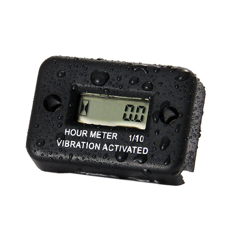Vibration Wireless Waterproof Hour Meter for gas diesel engine and electric motor lawn mower chain saw tractor truck RL-HM016