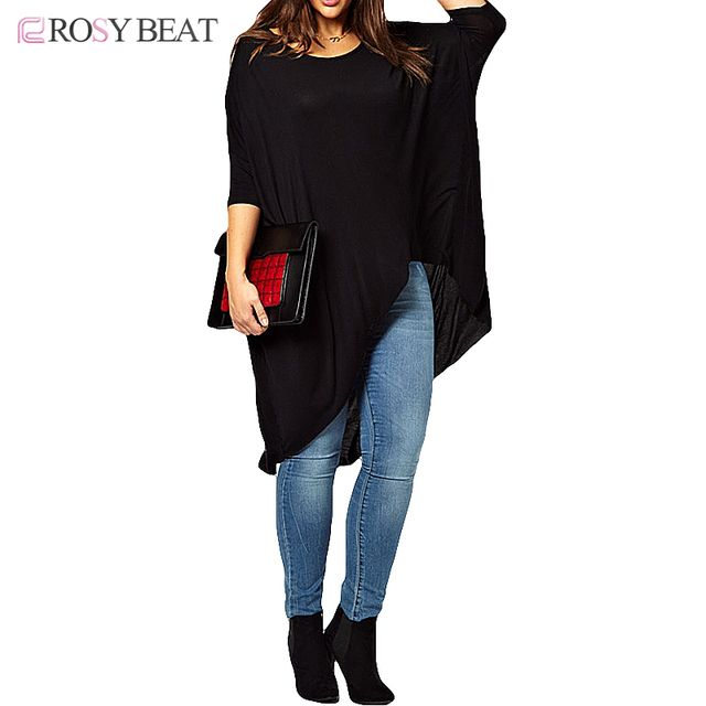 Summer T-shirts for Women Plus Size Tops 6XL Long Tops 5XL Big Size Tops and Tees Casual Tee Shirts 2016 Fashion Womens Clothing