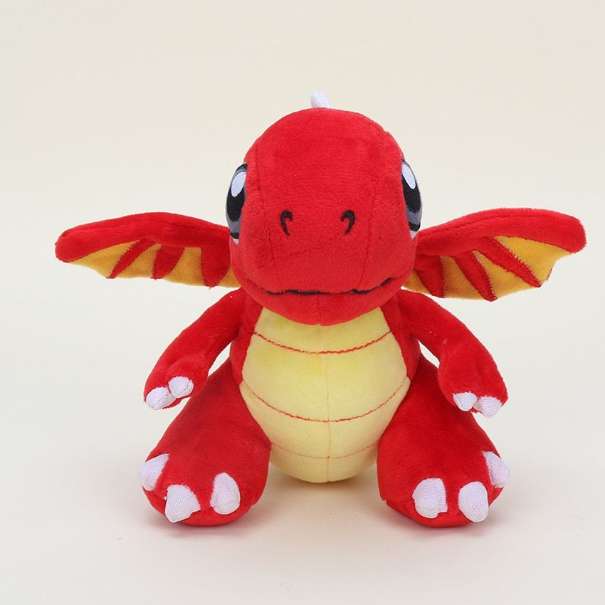 EMS 50pcs/lot 16.5cm Game Dragonvale Charizard plush toys Red Fire Dragon Dragonite Stuffed Animals Plush dolls